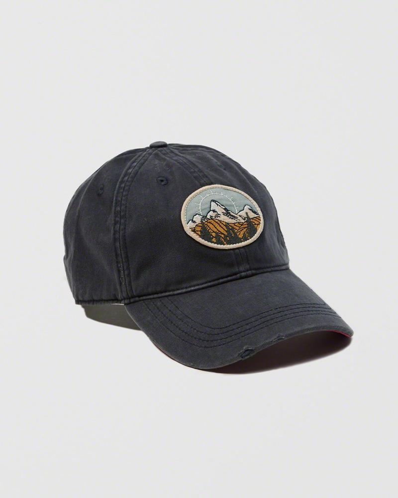 【送料無料】【新品】アバクロ【Mensメンズ】ブラッシュドツイルハット/Navy【Brushed Twill Hat】【Abercrombie&Fitch】【本物保証】