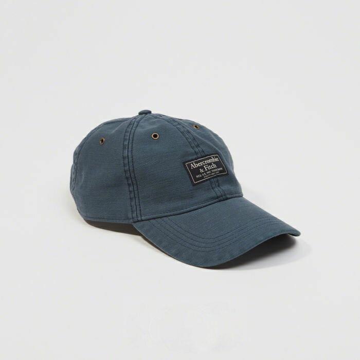 【送料無料】【新品】アバクロ【Mensメンズ】ガーメントダイロゴハット/Navy【Garment Dye Logo Hat】【Abercrombie&Fitch】【本物保証】