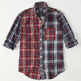 Abercrombie&Fitch (アバクロンビー&フィッチ) オックスフォードシャツ(長袖)(Oxford Shirt) メンズ (Multi Plaid) 新品