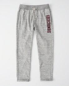 Abercrombie&Fitch (アバクロンビー&フィッチ) クラッシックロゴ スエットパンツ (Classic Logo Sweatpants) メンズ (Heather Grey) 新品