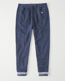 Abercrombie&Fitch (アバクロンビー&フィッチ) ジョガーアクティブパンツ (スエットパンツ) (Varsity Jogger) メンズ (Navy Blue) 新品