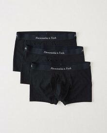 Abercrombie&Fitch (アバクロンビー&フィッチ) 3枚セットアンダーウェア(ボクサートランクパンツ)(3-Pack Trunkst) メンズ (Navy) 新品