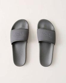 Abercrombie&Fitch (アバクロンビー&フィッチ) 正規品 ロゴシャワーサンダル (Logo Slides) メンズ (Grey) 新品