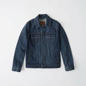 Abercrombie&Fitch (アバクロンビー&フィッチ) デニムジャケット(Denim Jacket) メンズ (Dark Wash) 新品