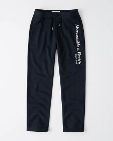Abercrombie&Fitch (アバクロンビー&フィッチ) ロゴスエットパンツ (スエットパンツ) (Logo Sweatpants) メンズ (Navy) 新品(softA&F)