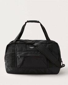 Abercrombie&Fitch (アバクロンビー&フィッチ) 正規品 ダッフルバッグ (Duffle Bag) メンズ ( Black) 新品