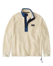 Abercrombie&Fitch (アバクロンビー&フィッチ) ハーフジップ フリースジャケット (Sherpa Half-Zip Sweatshirt) メンズ (Cream) 新品