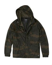 Abercrombie&Fitch (アバクロンビー&フィッチ) パターン ウインドブレーカー ジャケット (Pattern Windbreaker Jacket) メンズ (Camo) 新品