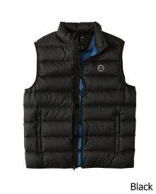 Abercrombie&Fitch (アバクロンビー&フィッチ) ライトウエイト パッカブル パファー ベスト (Lightweight Packable Puffer Vest) メンズ (Black) 新品