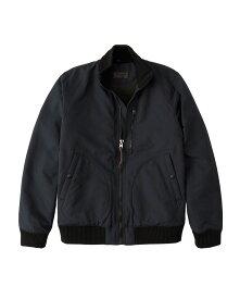 Abercrombie&Fitch (アバクロンビー&フィッチ) デッキ ボンバージャケット タンカースジャケット (Deck Bomber Jacket) メンズ (Navy Blue) 新品