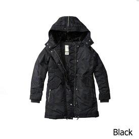Abercrombie&Fitch (アバクロンビー&フィッチ) 正規品 パファージャケット (Shiny Parka Puffer Jacket) レディース (Black) 新品