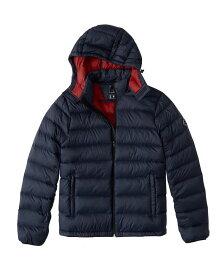 Abercrombie&Fitch (アバクロンビー&フィッチ) 取り外し可能フード パッカブルパファージャケット (Removable Hood Packable Puffer) メンズ(長袖)(Navy Blue) 新品 USAモデル