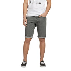 "Abercrombie&Fitch (アバクロンビー&フィッチ) デニムショーツ (A&F Classic Fit Denim Shorts) メンズ (Grey) 新品 (9"" Inseam)"