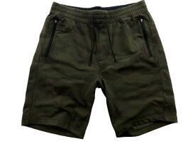 Abercrombie&Fitch (アバクロンビー&フィッチ) 迷彩柄 アクティブ スエット ショーツ (Camo Stretch Shorts) メンズ (Olive Green Camo) 新品