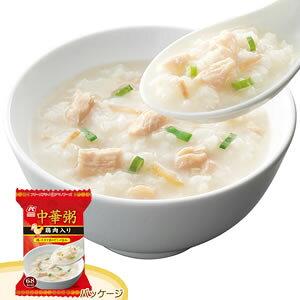 アマノフーズ フリーズドライ 中華粥「鶏肉入り」(4食入) 766152