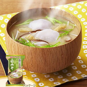 アマノフーズ 【お徳用セット】味わうおみそ汁「白みそ」(10食入×6箱セット) 204678-S