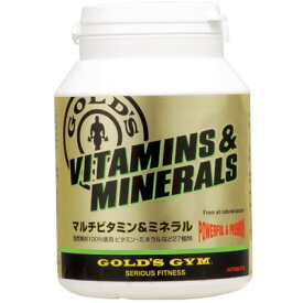 GOLD'S GYM(ゴールドジム) マルチビタミン&ミネラル 180粒 822314