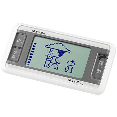 山佐時計計器(YAMASA) 万歩計 ゲームポケット万歩 歩く遍路<ホワイト> GK-600 396006