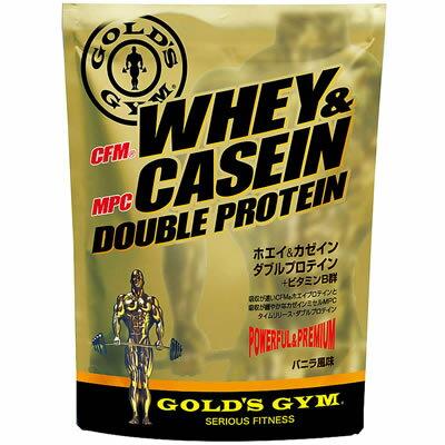 GOLD'S GYM(ゴールドジム) ホエイ&カゼイン ダブルプロテイン 2kg 830043