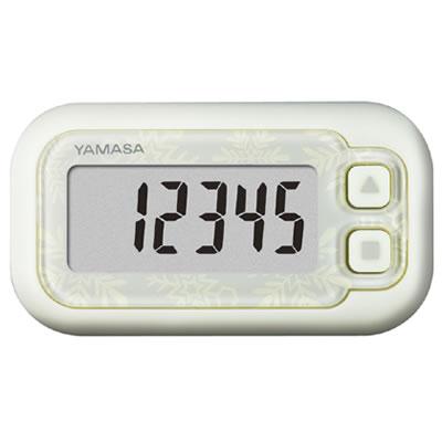 山佐時計計器(YAMASA) 万歩計 ポケット万歩 らくらくまんぽ<スノーホワイト> EX-200 102003