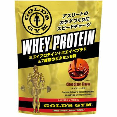 GOLD'S GYM(ゴールドジム) ホエイプロテイン 1,500g <チョコレート風味> 830326