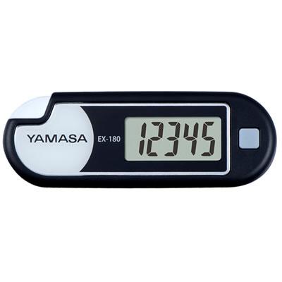 山佐時計計器(YAMASA) 万歩計 ルーペ付きポケット万歩<ブラック> EX-180 101822