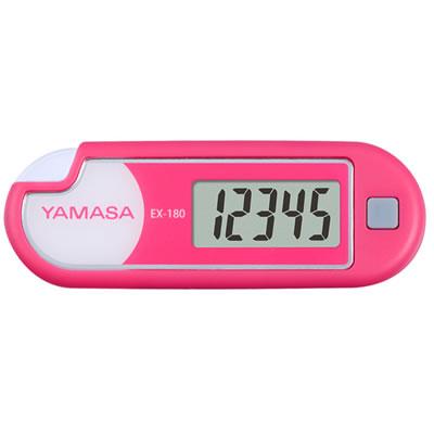 山佐時計計器(YAMASA) 万歩計 ルーペ付きポケット万歩<ピンク> EX-180 101815