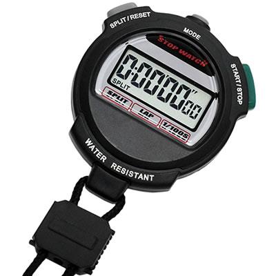 山佐時計計器(YAMASA) 日常生活防水ストップウォッチ<ブラック> TEV-4013Y 416407