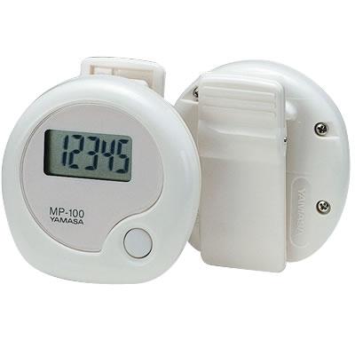 山佐時計計器(YAMASA) 【日本製】万歩計 manpo 万歩<ホワイト> MP-100 381002