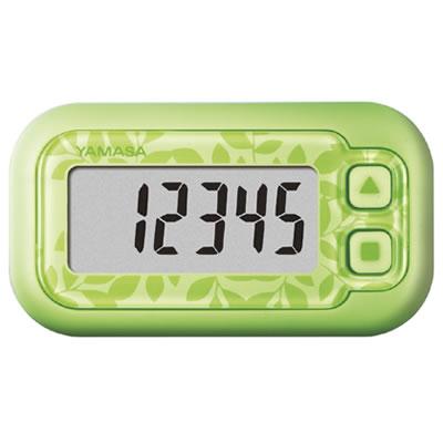 山佐時計計器(YAMASA) 万歩計 ポケット万歩 らくらくまんぽ<エコグリーン> EX-200 102027