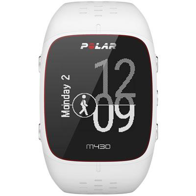 POLAR(ポラール) 手首型6LED光学式心拍計・GPSランニングウォッチ M/Lサイズ M430 <ホワイト> 0725882038773【送料無料】【smtb-K】