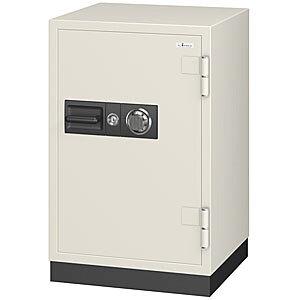EIKO エーコー 耐火金庫 100万変換ダイヤル アラーム警報器付 CS-91A 300283