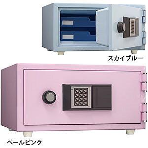 日本アイ・エス・ケイ 耐火金庫<テンキー>おしゃれ金庫 ペールピンク CPS-30T-PP 112813