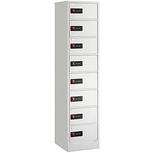 【据付設置費無料】EIKO(エーコー)貴重品保管庫 ReZERO LOCK<数字合わせ式>1列8段 8人用 LK-408W