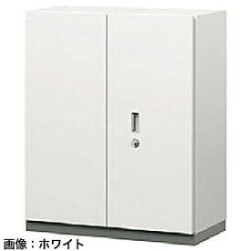 ITOKI(イトーキ) シンラインセーフ 両開き扉型耐火金庫<シリンダー>ホワイトグレーW GEM-10EMN-WE