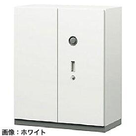 ITOKI(イトーキ) シンラインセーフ 両開き扉型耐火金庫<ダイヤル>ホワイトグレーW GEM-21AMN-WE