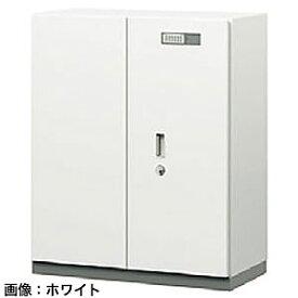 ITOKI(イトーキ) シンラインセーフ 両開き扉型耐火金庫<テンキー>ホワイトグレーW GEM-21BMN-WE
