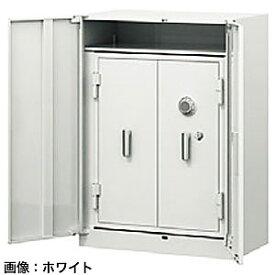 ITOKI(イトーキ) シンラインキャビネット耐火金庫組込型<ダイヤル>ホワイトグレーW HFM-108HEN4-WE