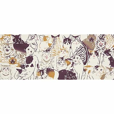 気音間(kenema)<手ぬぐい> 猫づくし(ねこづくし)【縁起物柄】【ねこ柄】 宮本 51692 516923