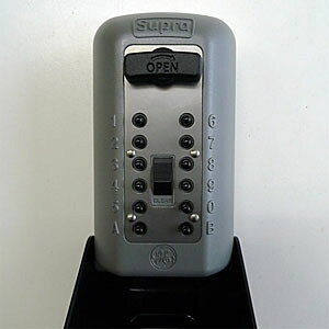 ケイデン カギ番人 ストロング(壁付け型プッシュ式)保護カバー付 P500