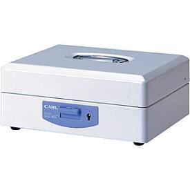 カール事務器 スチール印箱(大)<科目印140個収納>印鑑収納ケース 仕切り自在 SB-7004 270117