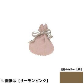 国産ポーチM <茶> No.6013 ×100セット