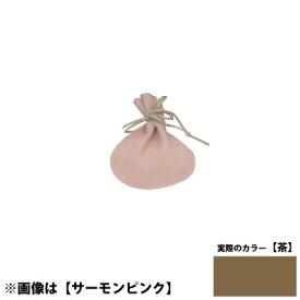 国産ポーチS <茶> No.6023 ×100セット