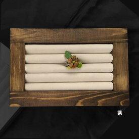 ウッド・リングボックス <茶> No.10040