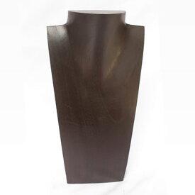 木製トルソー角型 <茶> No.9002