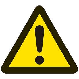 PL警告表示ラベル(簡易) [一般的 警告](中) 10枚1セット 202001 150268