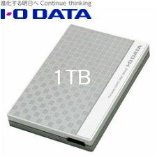 【送料無料】アイ・オー・データ機器 USB 3.0/2.0対応コンパクトサイズポータブルハードディスク 1TB EC-PHU3W1