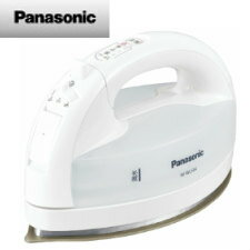 【送料無料】パナソニック コードレススチームアイロン (ホワイト)NI-WL504-W