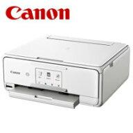 【送料無料】キャノンA4インクジェット複合機PIXUSTS8130ホワイト2432C021