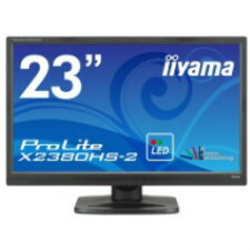 (単品限定購入商品)【送料無料】iiyama 23型ワイド液晶ディスプレイ ProLite X2380HS-B2(IPS、LED、ブラック)X2380HS-B2